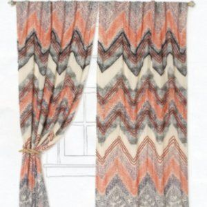 Scattered Chevrons Curtain from Anthropologie